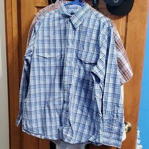 Wrangler Dress Shirt Size XL